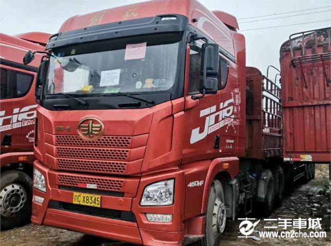 青岛解放 JH6 重卡 460马力 6X4牵引车(CA4250P25K2T1E...
