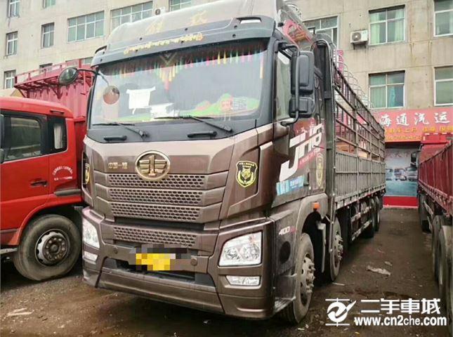 青島解放 JH6 400濰柴九米六貨車