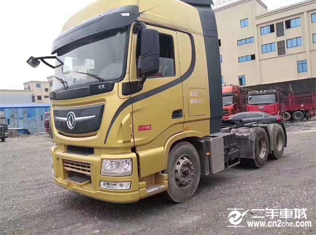 东风 天龙 旗舰重卡 520马力 6X4牵引车(采埃孚16档)