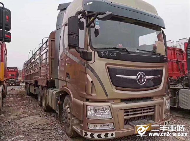 東風 天龍 旗艦重卡 520馬力 6X4牽引車(采埃孚16檔)