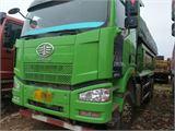 一汽解放 J6P 重卡350马力6X4LNG自卸车6米