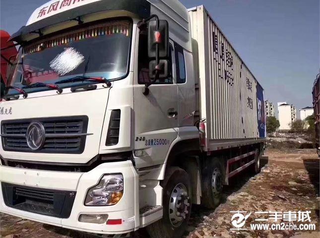 東風 天龍 載貨車 245馬力 6×2 廂式載貨車(DFL5253XXYAX1C)