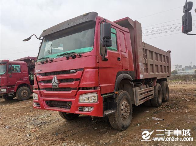中国重汽 豪沃 后八轮自卸车
