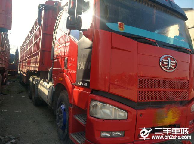 一汽解放 J6P 重卡 420马力 6X4牵引车