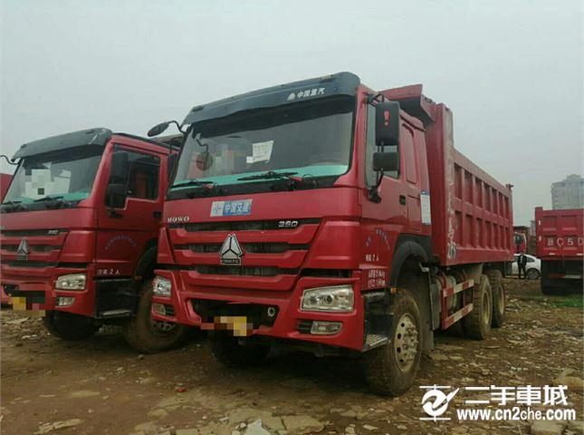 中国重汽 豪沃  A7 380自御车后八轮