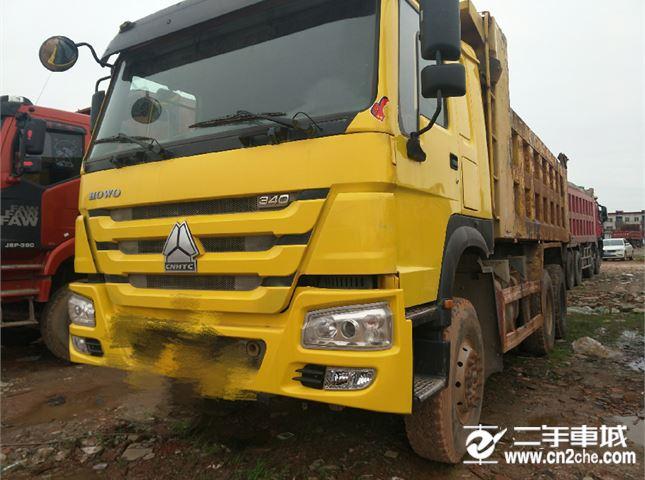 中國重汽 豪沃  A7 HOWO A7系重卡 340馬力 6X4 自卸車(ZZ1257N5847N1)