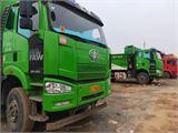 一汽解放 J6P 重卡350马力6X4渣土自卸车5.6米