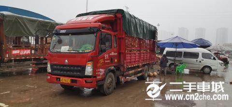 中国重汽 豪沃 154马力 4X2 载货车(底盘)(ZZ1087F381CD183)