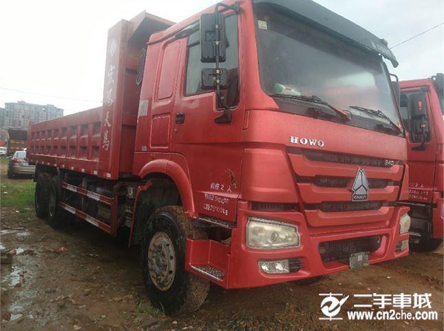 中国重汽 豪沃  A7 重卡 340马力 4X2 前二后四  (驾驶室A7-G)