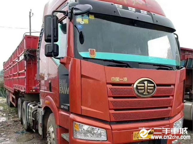 一汽解放 J6P 重卡 南方版 460马力 6X4牵引车(CA4250P66K24T1A1E5)