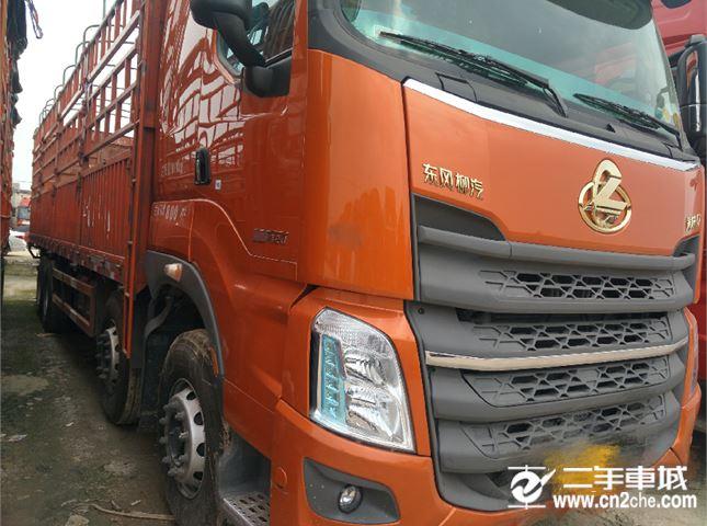 东风柳汽 乘龙H7 重卡420马力8X4 9.4米仓栅式载货车