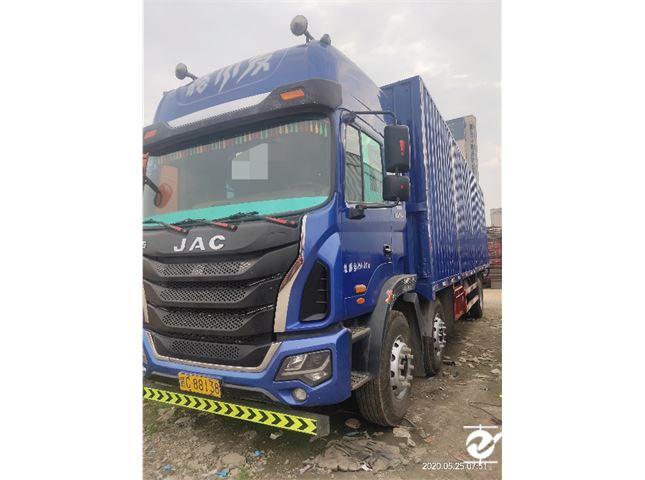 江淮 江淮格尔发K系列 K5X重卡 290马力 8X2 9.5米厢式载货车(HFC5311XXYP2K4G43S1V)