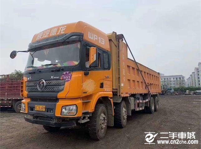陜汽重卡 德龍X3000 500馬力自卸車