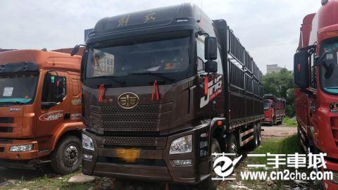 青島解放 JH6 JH6重卡 420馬力 8X4 9.5米倉柵式載貨車