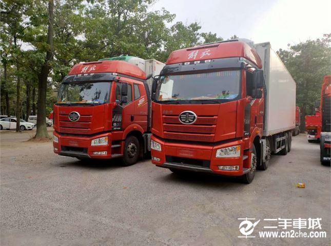 一汽解放 J6P 420馬力冷藏車