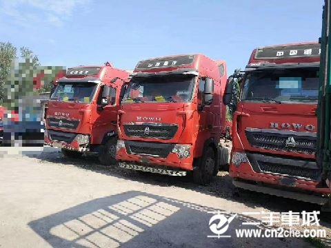 中國重汽 豪沃T7 重卡 暢行版 540馬力 6X4 牽引車