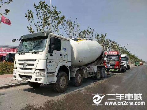 中國重汽 攪拌車 攪拌車