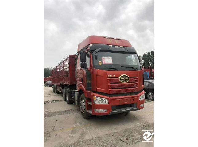 一汽解放 J6P 重卡 重載型 460馬力 8X4 9.5米欄板載貨車(CA1310P66K24L7T4E5)
