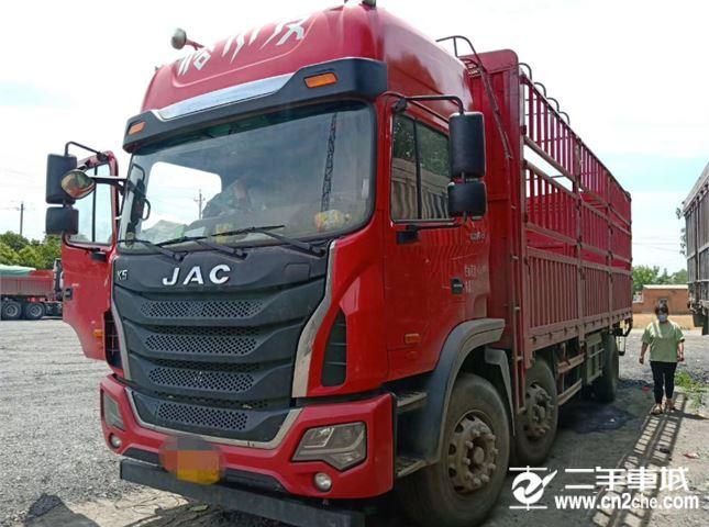 江淮 江淮格爾發K系列 K6L中卡 200馬力 6X2 7.2米欄板載貨車