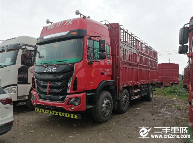 江淮 江淮格爾發K系列 K5ⅡX重卡 240馬力 6X2 7.8米倉柵式載貨車(HFC5251CCYP2K2D46S1V)