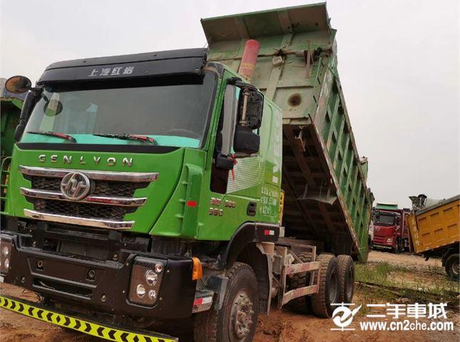 上汽紅巖 杰獅 自卸車 C100重卡 390馬力 6X4 6.2米自卸車(上菲紅)