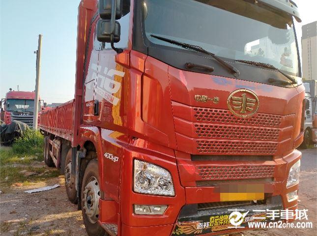青島解放 JH6 400九米六平板貨車