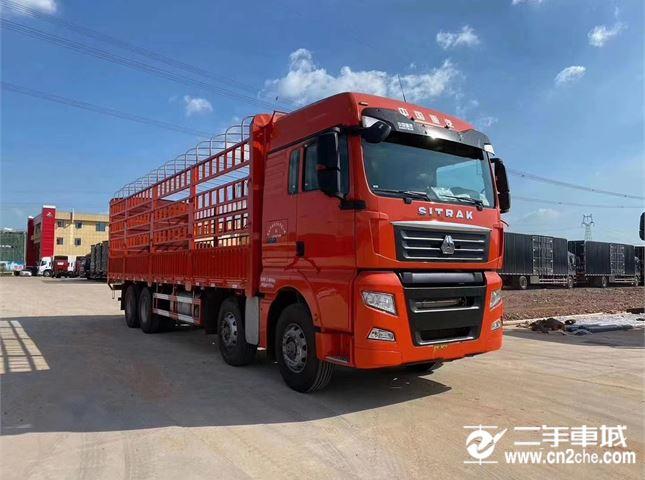 中国重汽 汕德卡 440马力载货车底盘