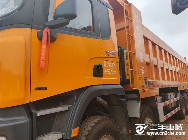 陜汽重卡 德龍X3000 430馬力自卸車