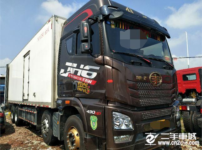 青島解放 JH6 JH6重卡 420馬力 8X4 9.5米欄板載貨車