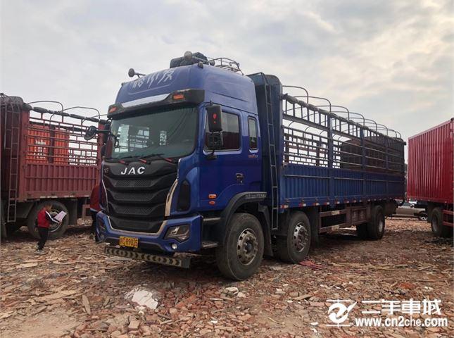 江淮 江淮格爾發K系列 載貨車 K5w重卡 280馬力 6X2 9.6米廂式載貨車(HFC5201X