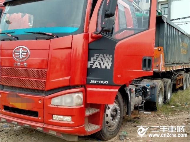 一汽解放 J6P 重卡 輕量化版 350馬力 6X4牽引車(CA4250P66K2T1E5)