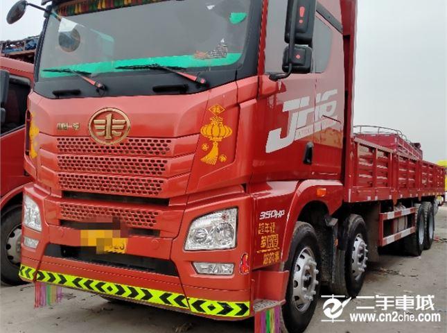 青島解放 JH6 350九米六平板車