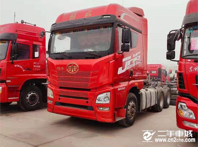 一汽解放 J6P 牵引车  新J6P重卡 领航版 500马力 6X4牵引车(CA4250P66K25