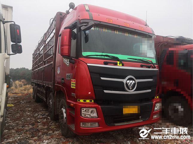 福田 欧曼 欧曼GTL前四后八高栏载货车