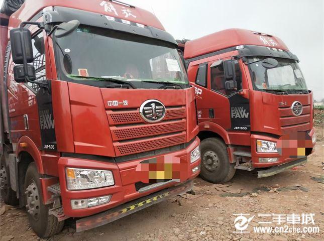 一汽解放 J6 解放J6P-500马力,车厢8.2米
