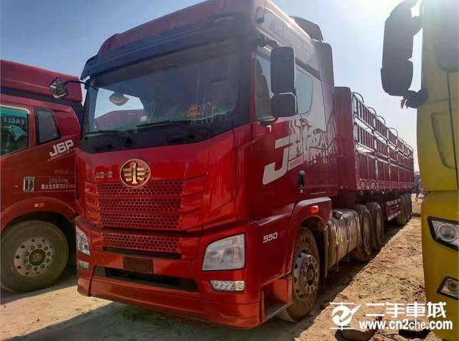 青岛解放 JH6 550马力6x4牵引车