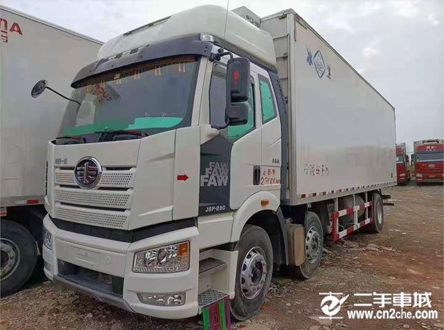 一汽解放 J6P 280马力冷藏车