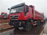 上汽紅巖 杰獅 C100重卡390馬力6X4 5.8米自卸車