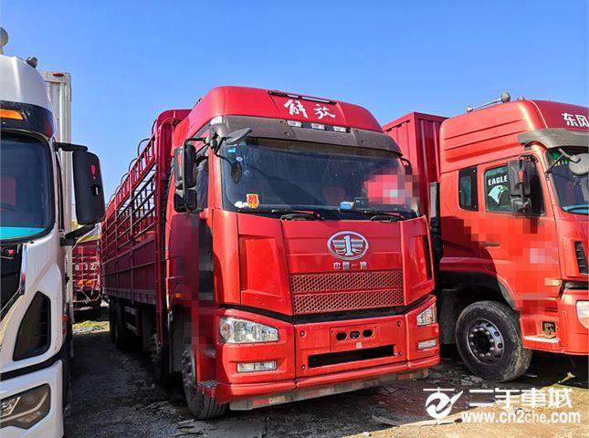 一汽解放 J6P 一汽解放J6P高栏载货车