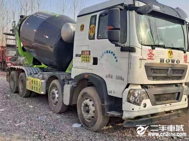 中国重汽 重汽工程车 混凝土搅拌车 搅拌车