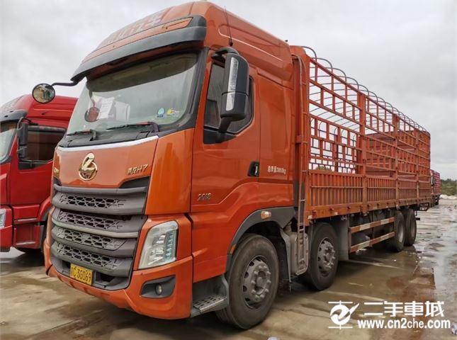东风柳汽 乘龙H7 375马力前四后八货车
