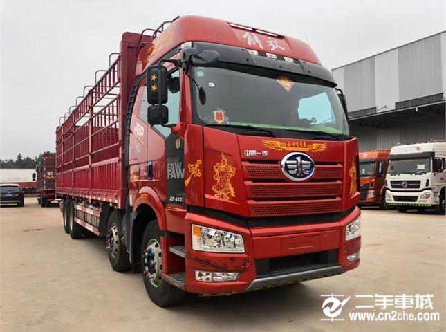 一汽解放 J6P 420動力8X4載貨車