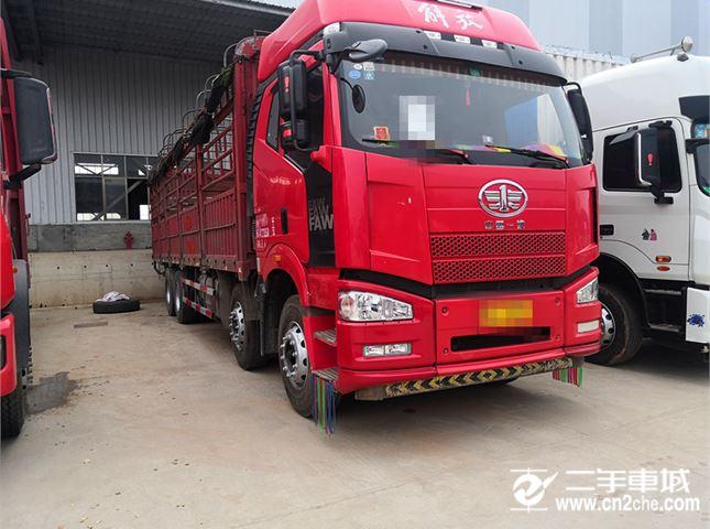 一汽解放 J6P 解放J6P高欄載貨車