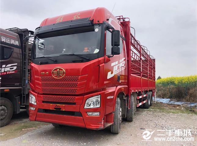 青岛解放 JH6 460动力8X4载货车