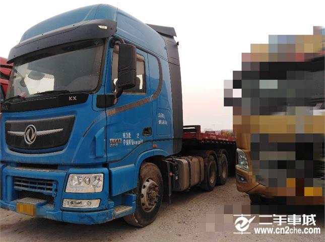 东风 天龙旗舰KX   560马力牵引车