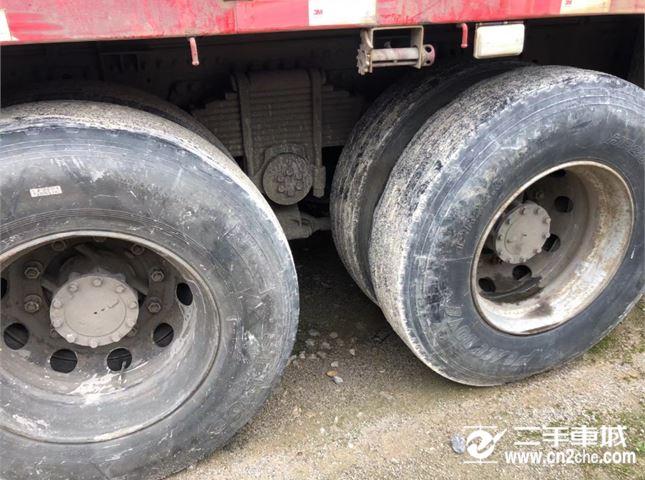 青岛解放 JH6 430动力8X4自卸车