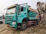 中国重汽 豪沃 17年国五5.6米后八轮自卸车