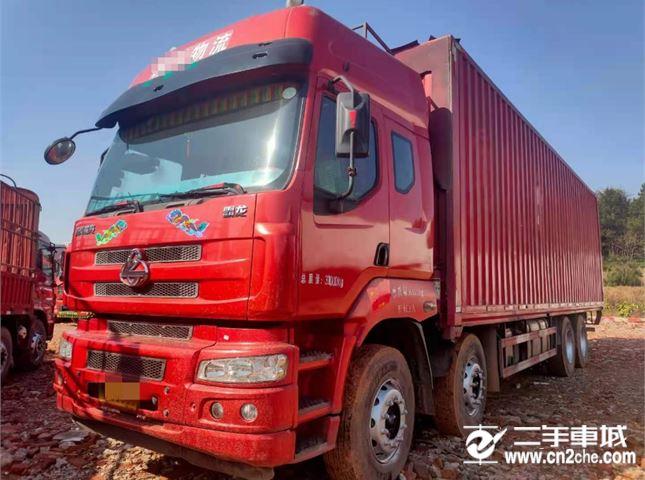 东风柳汽 霸龙 320马力箱式货车