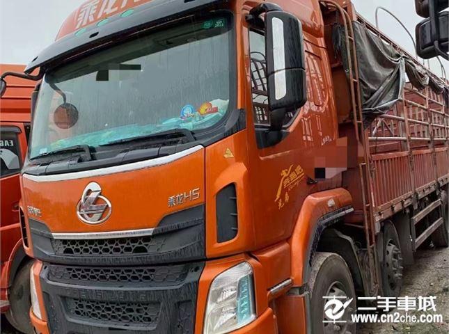 东风柳汽 乘龙H5 270马力7.8米高栏载货车