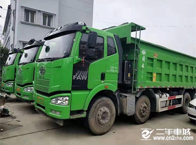 一汽解放 J6P 320马力轻量化自卸车